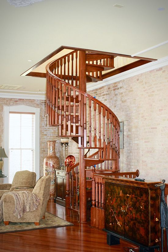 Spiral Stair Applications Indoor Spiral Staircases
