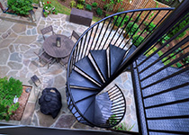 request a quote - Outdoor Spiral Staircase