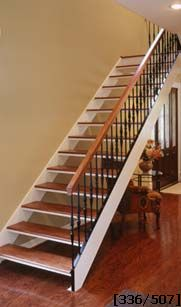 STRAIGHT AND CURVED STAIRS.