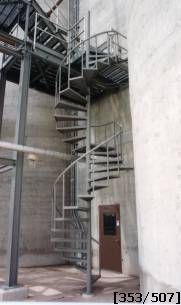 Industrial Models. OSHA Approved Spiral Stair: ...