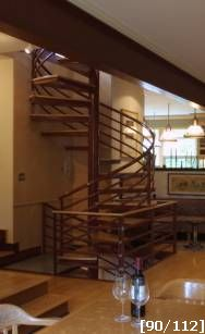 Two story spiral staircase 2 story multi level stairs for 2 story spiral staircase