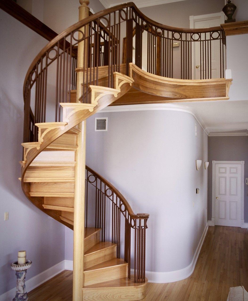Staircase With Wooden Tower : Spiral staircase kits circular stairs kit