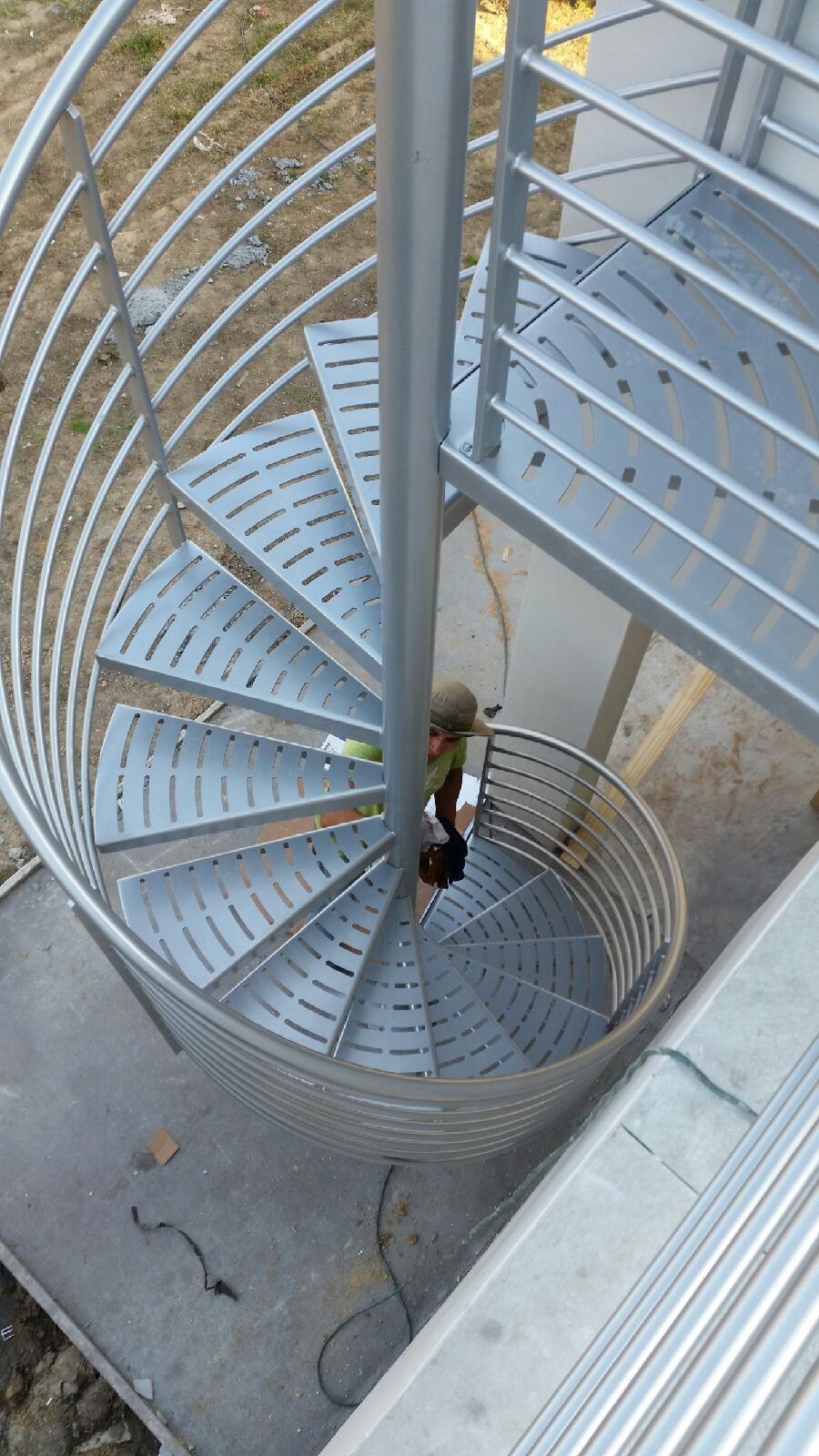 Spiral Stairs and Spiral Staircase Manufacturer - Custom